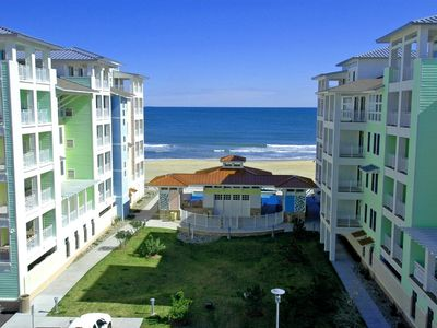 Photo for Stunning Ocean Views, Sweeping Sunsets, Oceanfront! Wrap-around balcony