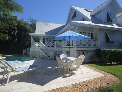 Photo for Old Naples' Royal Palm Cottage - Walk to Beach and Fifth Ave