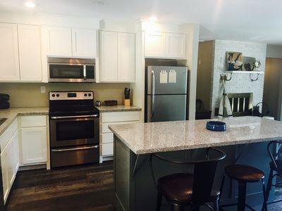 Newly remodeled kitchen with all the essentials.  Just bring food!