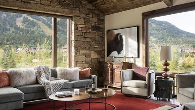 Photo for Luxury home with expansive views of the slopes of Jackson Hole Mountain Resort.
