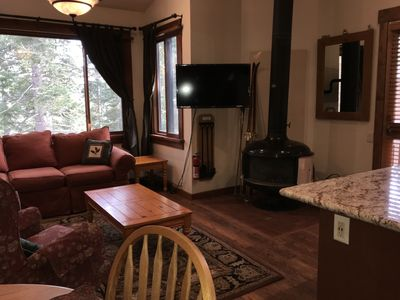 Photo for Newly renovated with a rustic theme Northstar Ski Trails Condo *Ski in/Ski Out*