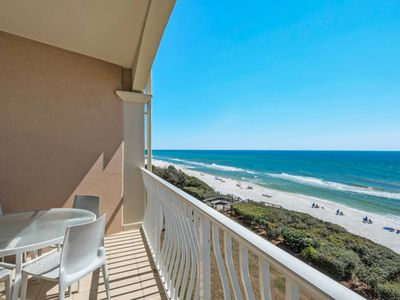 Photo for CALLING ALL BEACH LOVERS! GULF FRONT 30A CONDO WITH STUNNING VIEWS WAITING FOR YOU!