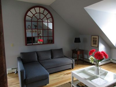 Photo for Spacious Apartment On The Green In Picturesque Vermont Village