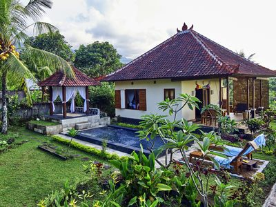 Photo for Dream house in the rice field in the sunset + private pool + FREE WIFI