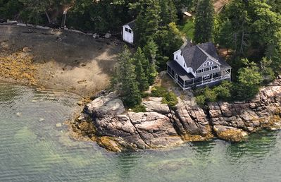 Photo for Incredibly Scenic Ocean Front Property on Eggomoggin Reach - Brooksville, ME