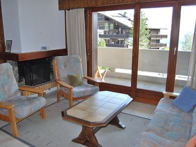 Photo for Apartment in the center of Nendaz with Lift, Parking, Balcony, Washing machine (37415)