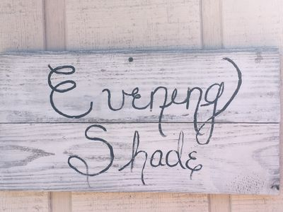 Photo for Evening Shade- Relaxing Western Feel