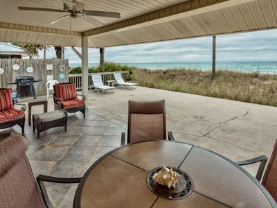 Photo for Life's a Beach! Beautiful Private Beachfront Home!  Tons of Space! 2 Greatrooms!