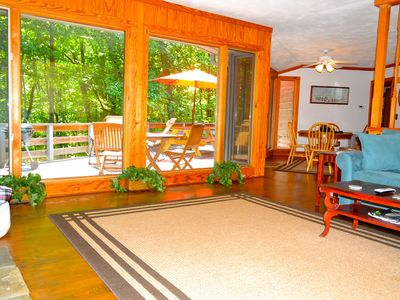 Photo for HIDDEN GEM, so PRIVATE & PET FRIENDLY, near all area attractions and TIEC! RELAX
