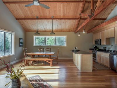 Photo for Secluded Barn Loft Overlooking Mountain Pinot Noir in Anderson Valley