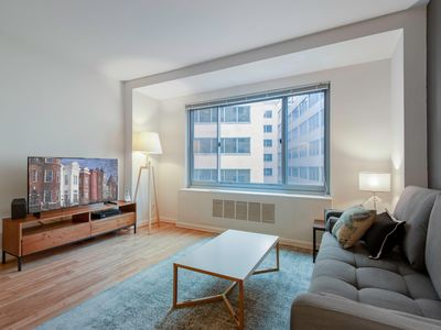 Photo for Lovely Dupont Circle 1BR w/ Gym, Doorman, near 14th St. by Blueground