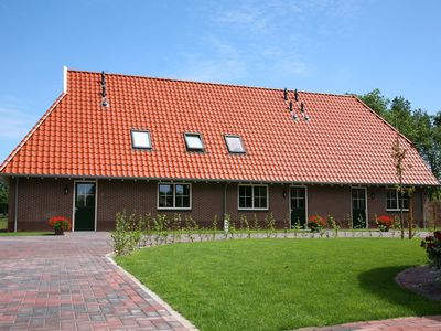 Photo for Attractively furnished farmhouse for 16 people, looking out over Twente farmlands