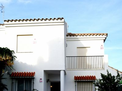 Photo for Two-storey house with terrace, garage, private gardens and sea views