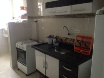Photo for 1BR Apartment Vacation Rental in Guilhermina, SP