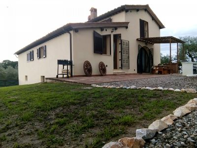 Photo for Exclusive villa with park and private pool in Siena