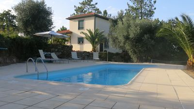 Photo for Stunning villa with private pool in beautiful woodland surroundings.