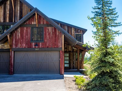 Photo for PERFECT Summer Mountain home w/ Hot Tub! Next to Zip Lines, Alpine slide & More!