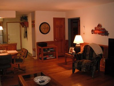 Photo for Located close to skilifts, grocery store, restaurants, golf course,lake