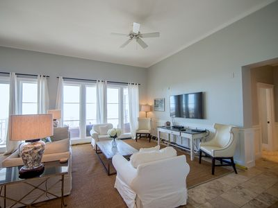 Photo for STUNNING GULF VIEWS | 3BR WaterSound Condo #426A | Steps to Beach and Pool