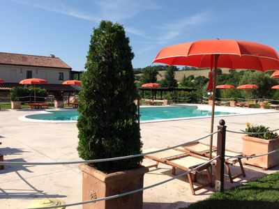 Photo for NEW! GIRASOLE 4 km from the sea with swimming pool