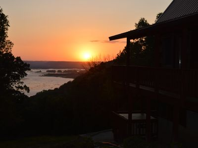 Photo for Secluded Wisconsin Cabin Rental with a view of the Mississippi River!!