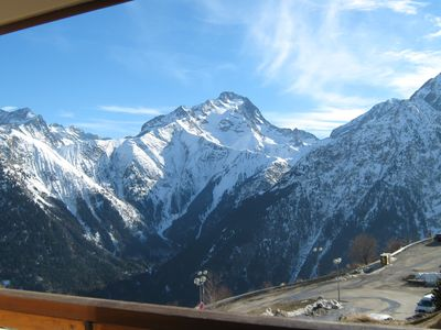 Photo for Les Deux Alpes Residence Le Soleil Apartment 5 Sleeps