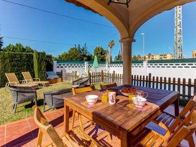 Photo for Family-friendly villa w/ private pool in a quiet community - close to the beach!