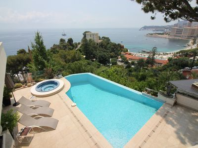Photo for Outstanding Villa - Sea View- Swimming Pool- 5min Yacht Show