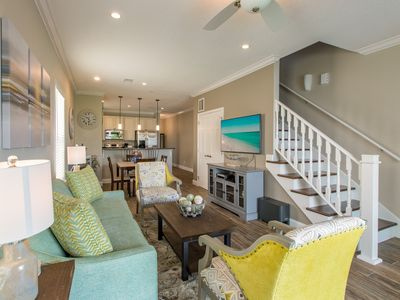 "Photo for ""SEAS THE DAY""~ Newly Built Townhome in Perfect Location with Community Pool!"