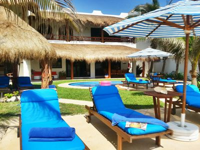 Right on the sand! Magical Beachfront Villa! 2kms from Akumal