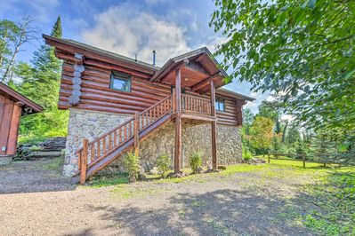 Book your Northern Minnesota getaway to this remote 3-bedroom, 2-bath cabin!