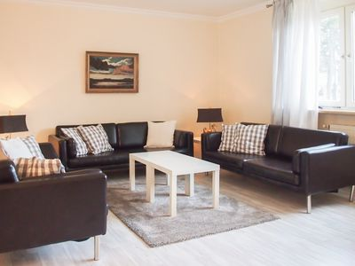 Photo for 160sqm apartment for 6-8 people, in a dream location very close to the sea, loggia, WiFi, 3, 5 bedrooms, 2 bathrooms, guest toilet, a few steps to the beach