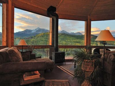 Photo for Alpenglow Ranch, Telluride: 2 BR/Panoramic Views/12 Acres/Pond