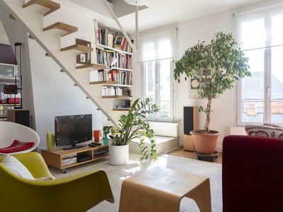 Photo for Magnificent bright duplex apartment