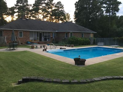 Photo for House on large 2 1/2 acre lot, off the main road and close to I 20 , for Masters