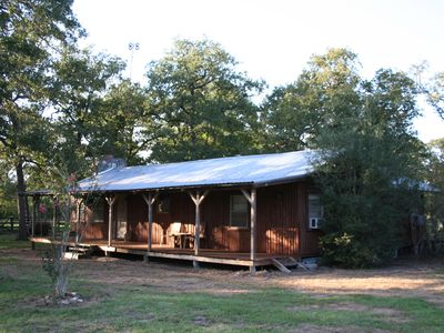 Photo for COUNTRY GET AWAY JUST 1 HR FROM AUSTIN & 1 1/2 HRS FROM SA & HOU