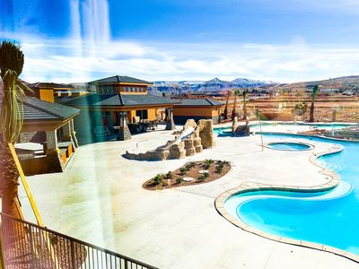 Photo for 20 MIN TO ZION | NEW Large Townhouse FAMILY/COUPLE | Waterslide Pool | Smart TV