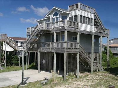 Photo for Shore-Nuf II Oceanside w/Screened porch, Close to Beach