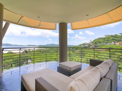 Photo for Elegant modern vacation condo for 8 with Ocean View near central Tamarindo