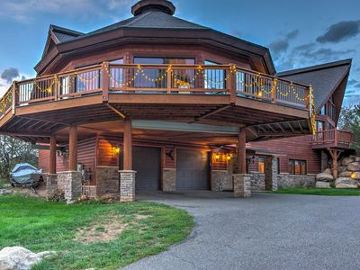 Steamboat Springs Home w/2 Hot Tubs & 360 Mtn View