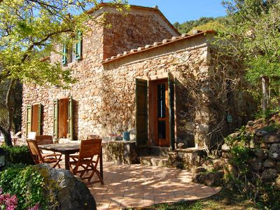 Photo for Comfort and nature 5 minutes from the sea in an old house, Elba Island, Tuscany
