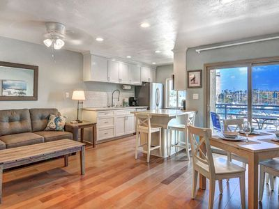 Photo for Steps from the sand! Freshly Decorated with Harbor Views -  Marina Del Mar 307B