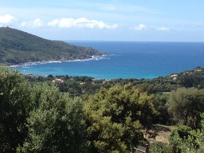 Photo for F1 splendid sea view 1st floor of villa CARGESE