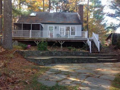 Photo for Little Sebago Lake, Year round,charming, all amenities includes canoe and kayak