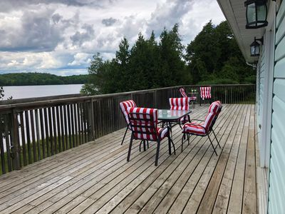Photo for Lazy Loon Lakehouse - Ultimate privacy on 500 feet of shoreline and enchanted forest