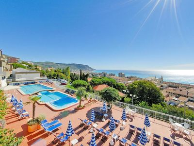 Photo for Residence Sant'Anna, Pietra Ligure  in Riviera di Ponente - 8 persons, 2 bedrooms