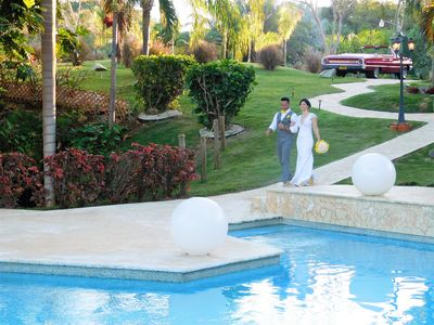 Photo for Destination Wedding and Event Venue Villa - Sleeps 50!, pool, etc,