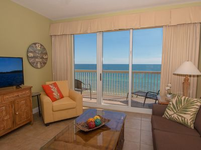 Photo for * * * L@@K!!!  Gorgeous NEW Listing - Beachfront Condo at Calypso Resort ! * * *