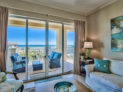 Photo for San Remo 409, top floor,3/3 ,Beach Service included, 5 star Reviews!!!!!!!!