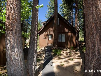 Photo for Incline Village Championship Golf Course  Free Standing Cabin Style, 3 Bedrooms, 2 Bathroom